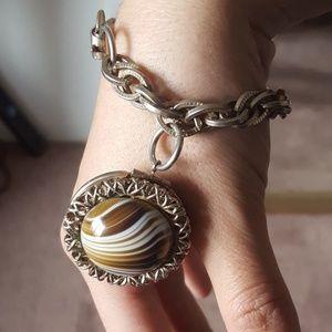 Jewelry - Vintage locket bracelet